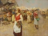 grönsaksmarknad by giuseppe pitto