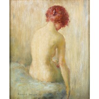 a nude female by edmund william greacen