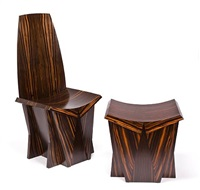 cycladic chair and bench (various sizes; set of 2) by ed weinberger