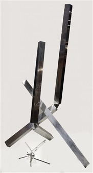 untitled with maquette (2 works) by john raymond henry