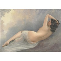 a reclining nude by jean jannel