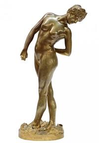 la joueuse de boules (the ball player) by jean-léon gérôme