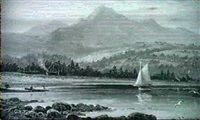 goatfell, brodick, arran by albert dunington