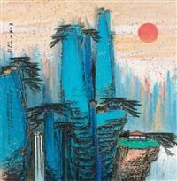 landscape by ji ren