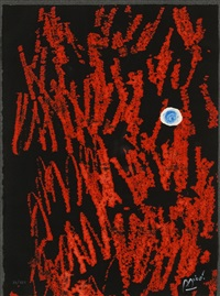 from liberte des libertes (sold with 241b; set of 2) by joan miró