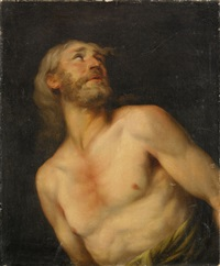 mansstudie (study) by john francis rigaud