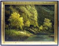 canyon wall by ralph scott