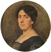 retrato femenino by fernando alvarez de sotomayor y zaragoza