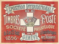 exposition internationale timbres-postes by felix renaud