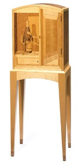 wine cabinet by silas kopf and tim faner