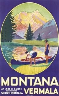 monta vermala (poster) by maurice freundler