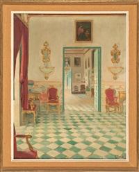 interior del palacio de víznar by ramón pichot girones