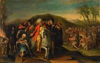 biblisk scen by hieronymus francken the elder