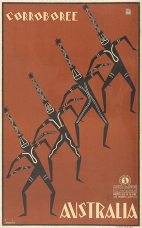 australia poster by gert sellheim