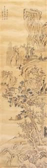 松溪泛舟 (landscape) by xiao yuncong