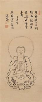 无量寿佛 (amitayus buddha) by ji fei