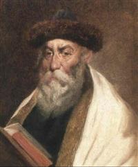 bildnis eines rabbi by franz obermüller