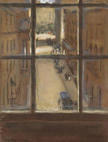 view from a london window by walter gay
