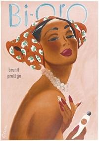 bi-oro (poster) by otto glaser