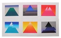 mappe gipfel (portfolio of 6) by anton stankowski