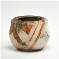 pit-fired and vessel by bennett bean