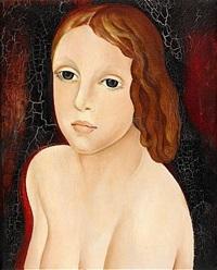 porträtt av flicka by lydia dmitrievsky