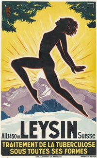leysin by jacomo müller