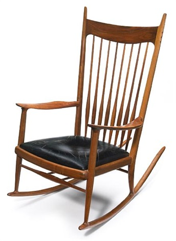 Spindle Back Rocking Chair By Sam Maloof