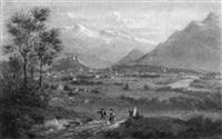 blick auf salzburg by paul leuteritz