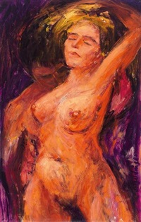 weiblicher akt by johannes selbertinger