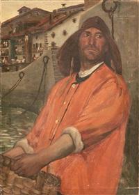pescador vasco by julián ibáñez de aldecoa