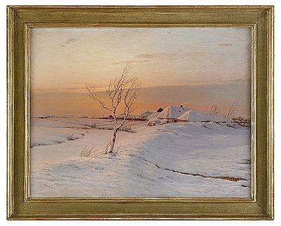 vinterlandskap by nikolai nikanorovich dubovskoy
