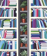 bookshelves by hong kyong tack