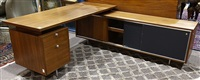 executive desk and return by george nelson