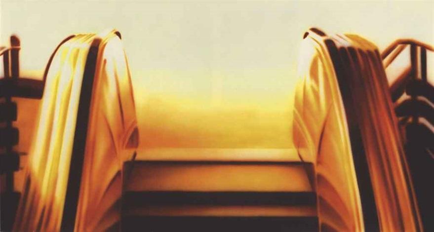 escalator by zhou tiehai