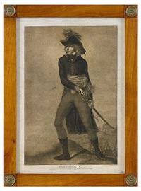 porträttet av marskalk bernadotte (after hilaire le dru) by pierre-michel alix