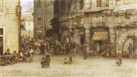 römische strassenszene by julius zielke