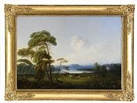 pastoralt landskap by per gustaf von heideken