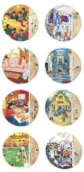 albums of new shanghai (2 works) by liu dahong