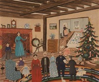 christmas in new hampshire by albert webster davies