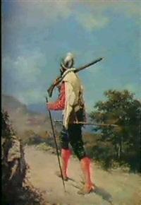 genfer musketier aus der zeit der escalade (1602) by emile rabellaz