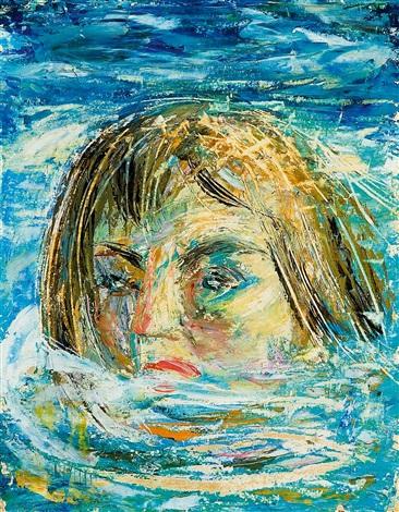 nadadora by jesus de perceval
