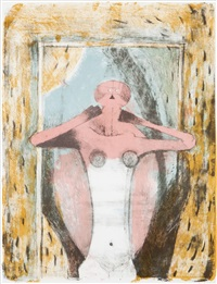 woman's torso (sold with 250b; set of 2) by rufino tamayo