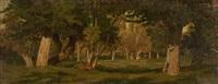 pacage d'aubry, normandie by auguste paul charles anastasi
