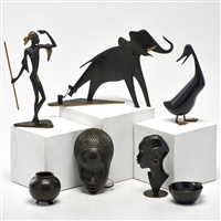 six pieces: elephant by franz hagenauer
