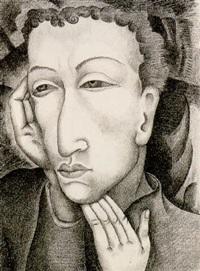 portrait of a young man by lucretia van horn