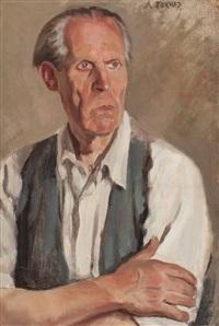 retrato masculino by augusto torres