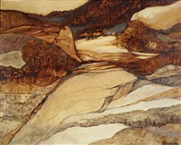 bergige landschaft by siegfried rischar