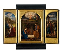 hausaltar (set of 5) by johann friedrich overbeck
