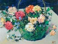花篮 (a basket of flowers) by meng guang